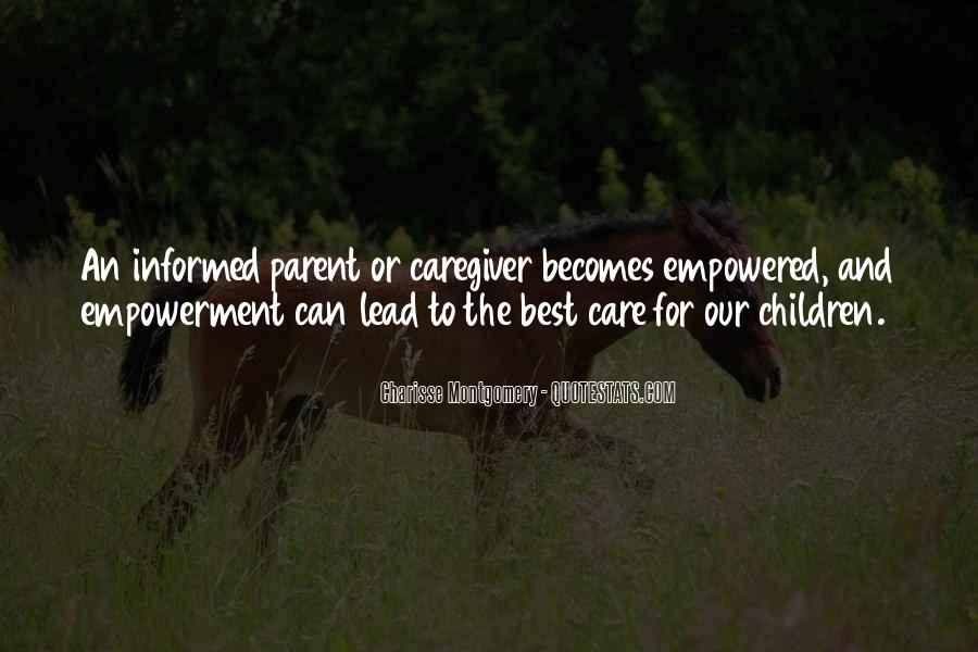 Care For Parents Quotes #150619