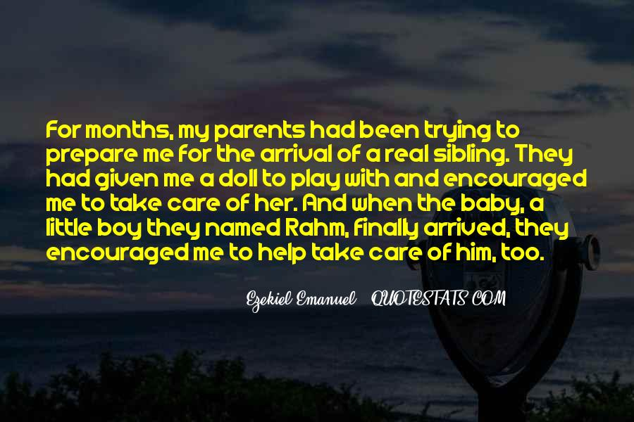 Care For Parents Quotes #1746850
