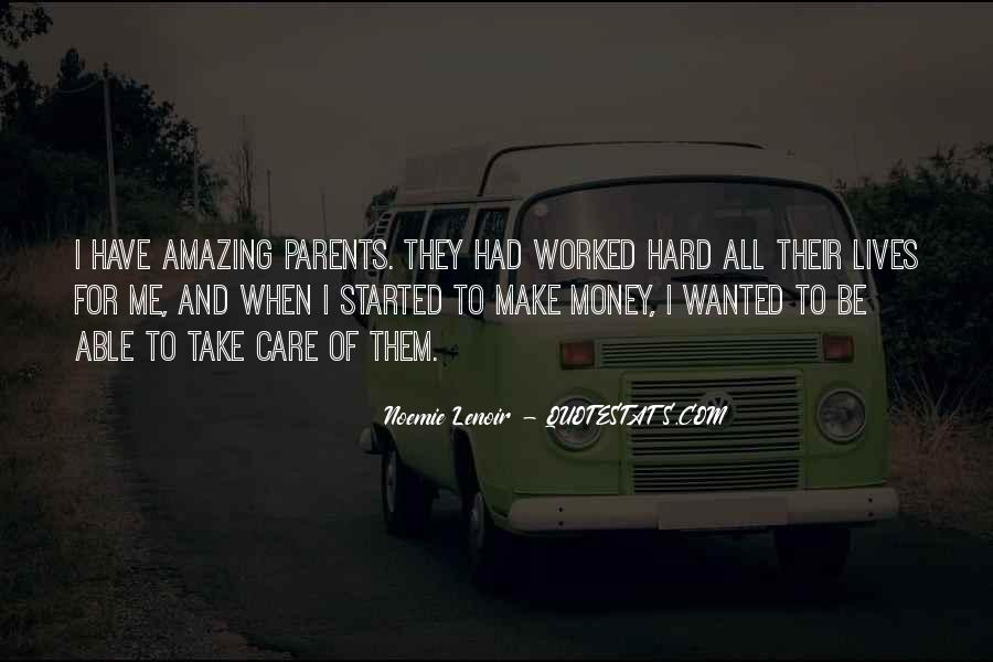 Care For Parents Quotes #610723