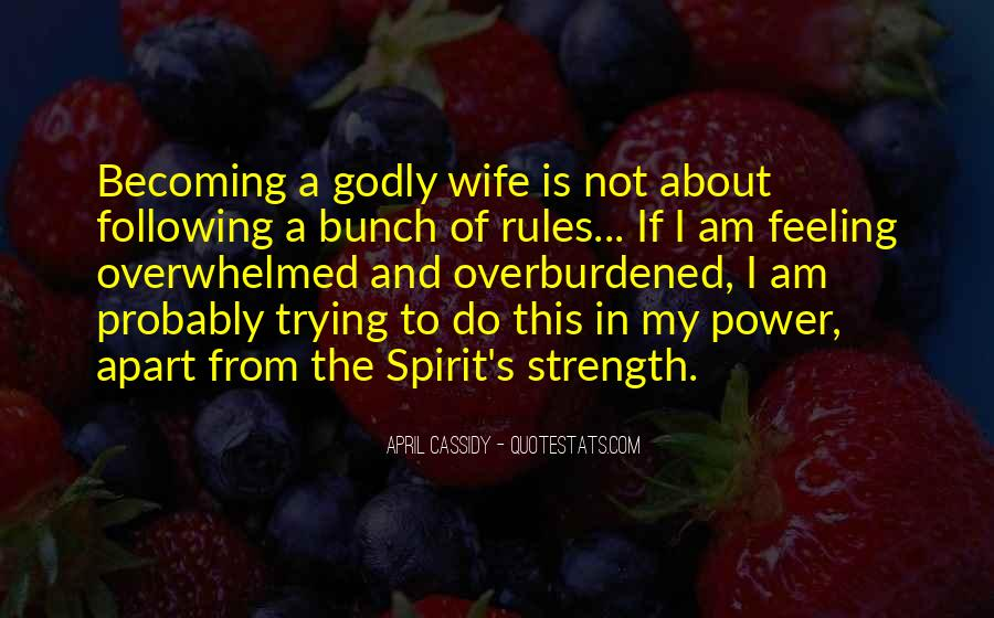 Quotes About Living Godly #1513937