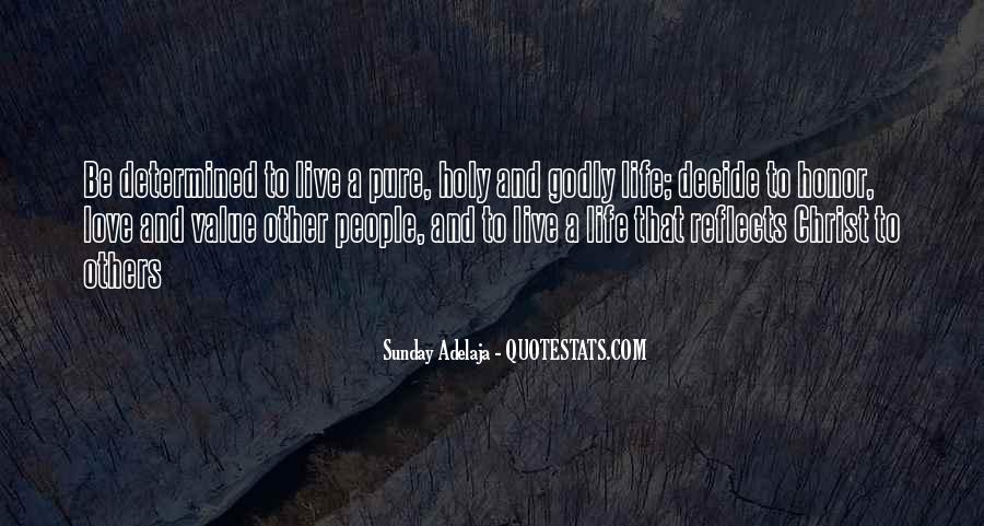 Quotes About Living Godly #1673676