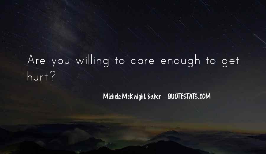 Care Of U Quotes #1049