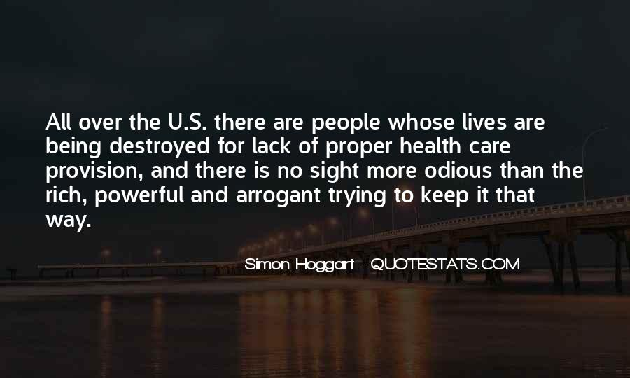 Care Of U Quotes #106745