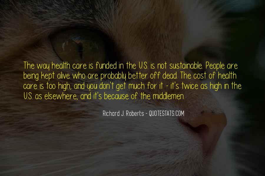 Care Of U Quotes #1474250