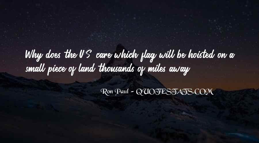Care Of U Quotes #261985