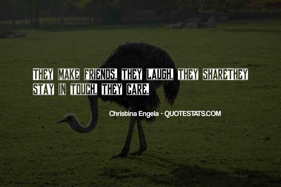 Care Of U Quotes #2685
