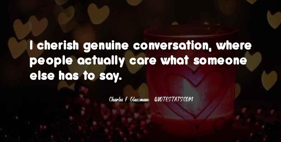 Care Of U Quotes #3477