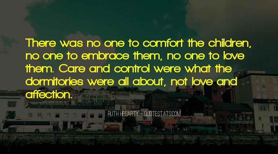 Care Of U Quotes #4076