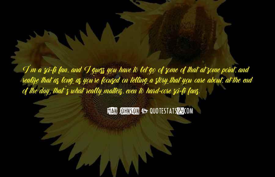 Care Of U Quotes #4744