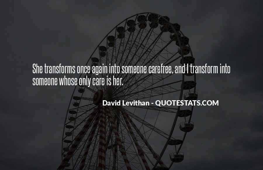Care Of U Quotes #487