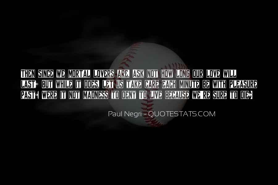 Care Of U Quotes #5071