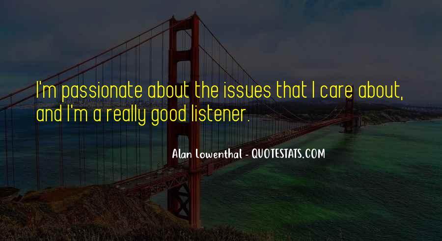 Care Of U Quotes #5094