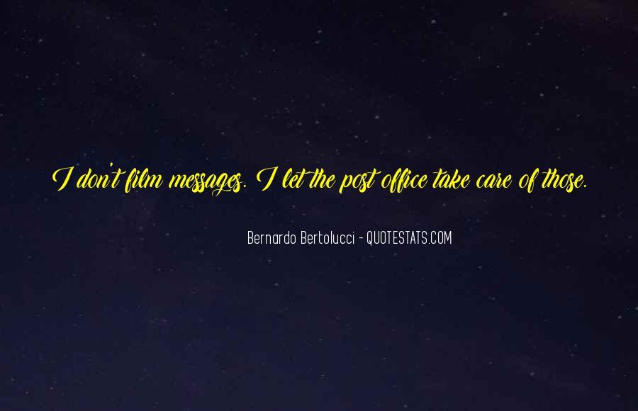 Care Of U Quotes #5140