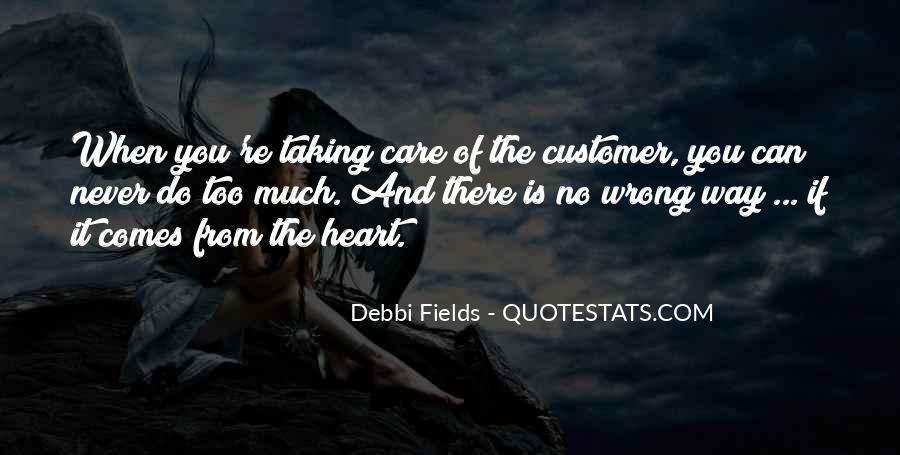 Care Of U Quotes #5289