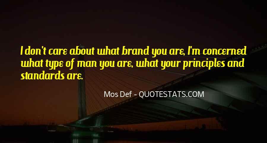 Care Of U Quotes #5678
