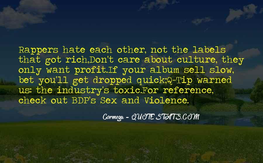 Care Of U Quotes #658