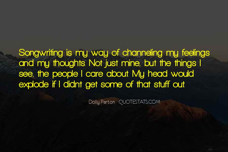 Care Only About Yourself Quotes #11272