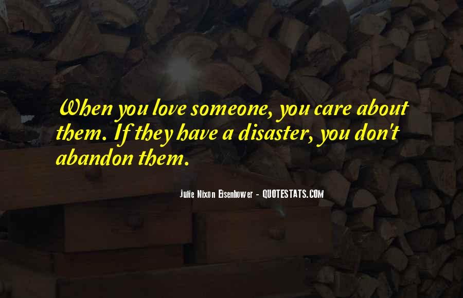 Care Only About Yourself Quotes #18648