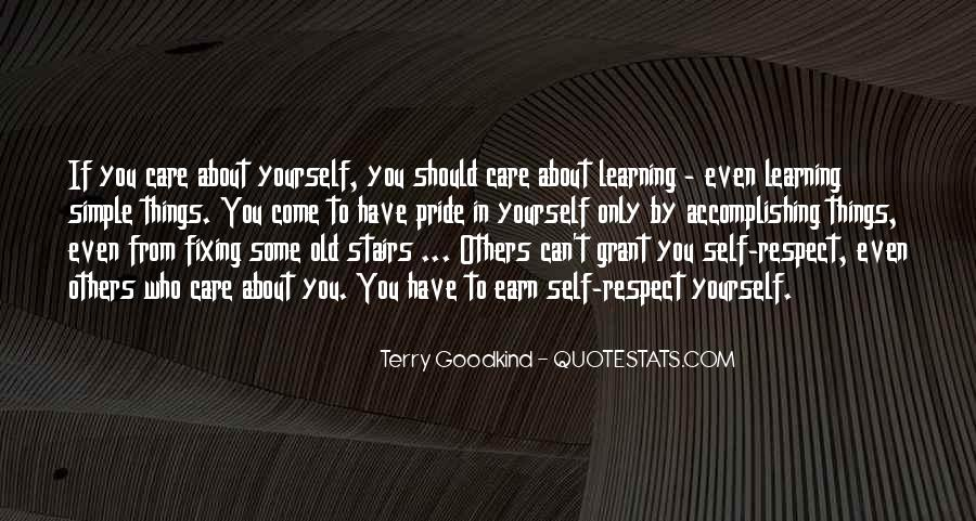 Care Only About Yourself Quotes #600291