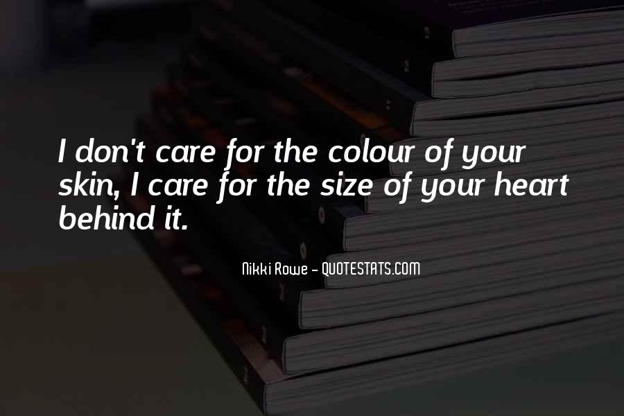 Care Too Much Love Quotes #50182