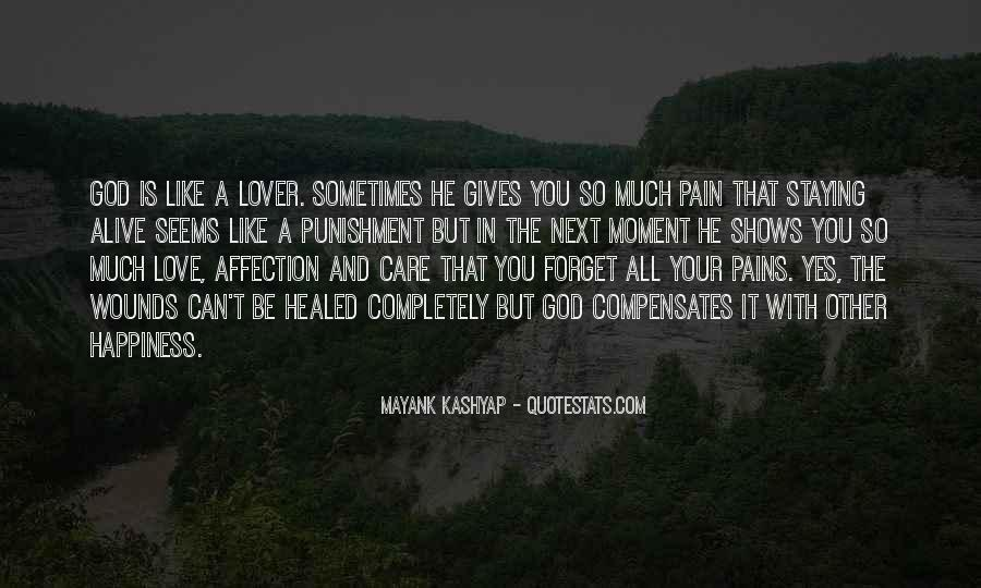 Care Too Much Love Quotes #60876