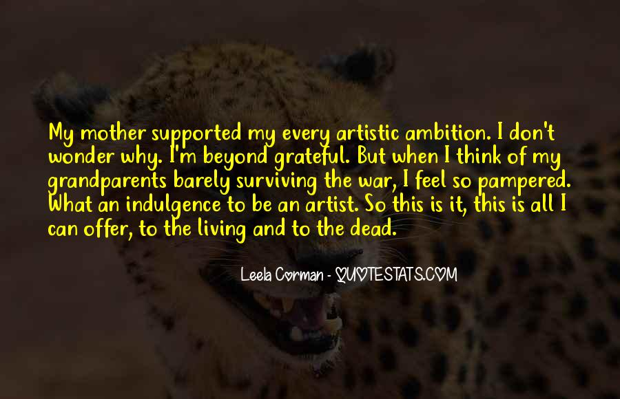 Quotes About Living Art #175211
