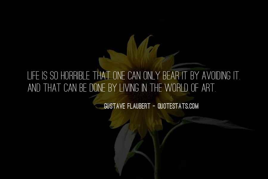 Quotes About Living Art #260466