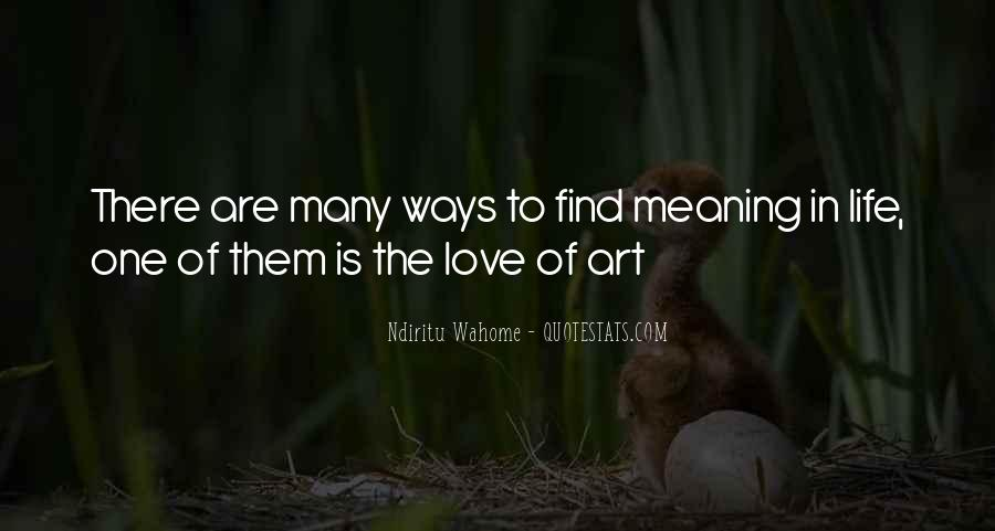 Quotes About Living Art #320796