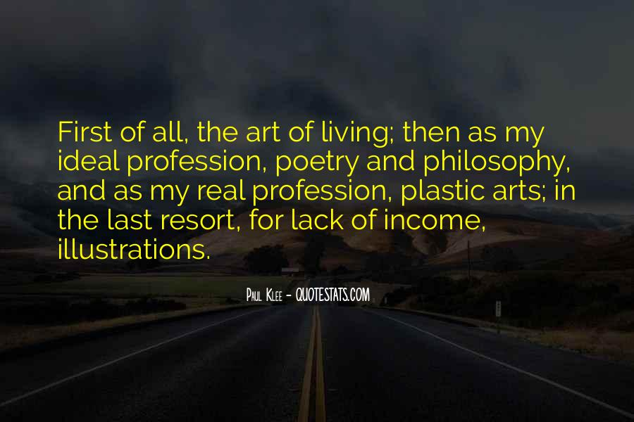 Quotes About Living Art #340857