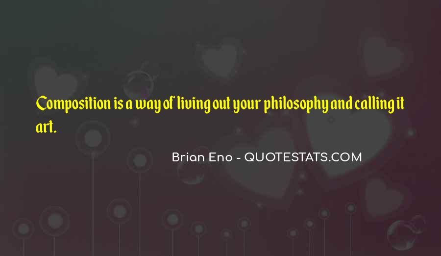 Quotes About Living Art #51947