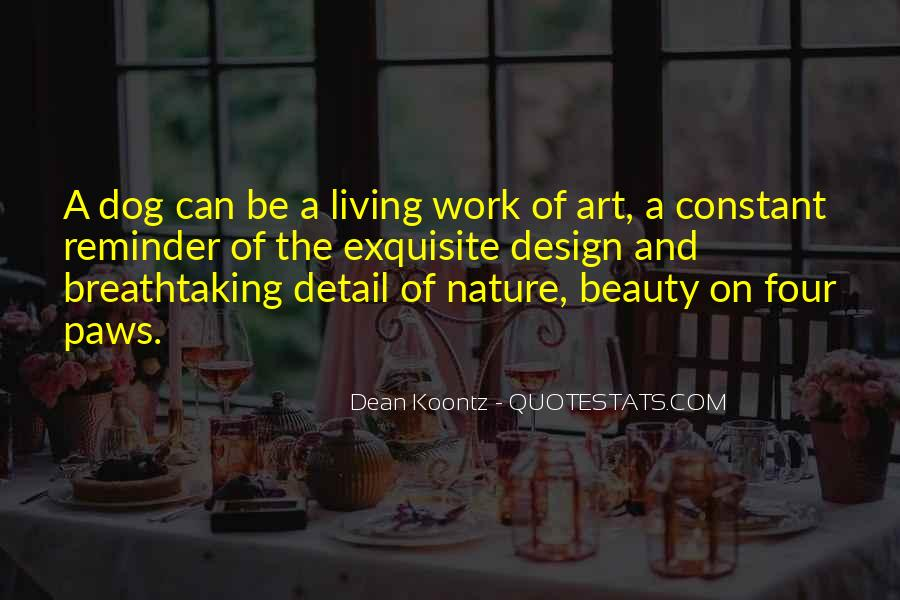 Quotes About Living Art #82399