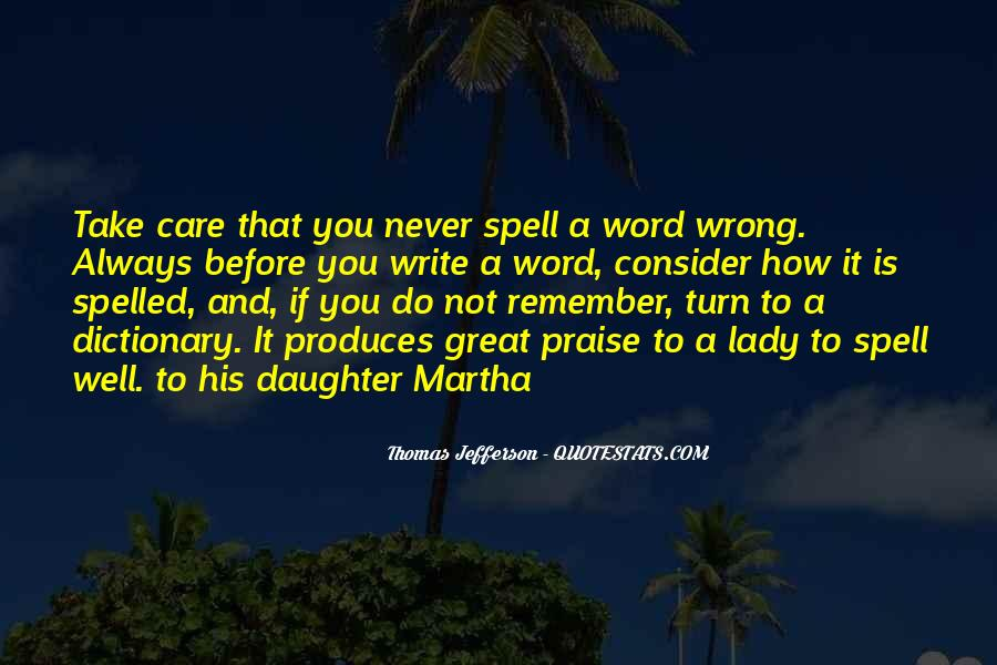 Caring For My Daughter Quotes #1638903