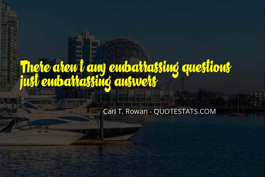 Carl Rowan Quotes #1161538