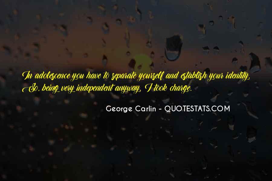 Carlin Quotes #109516