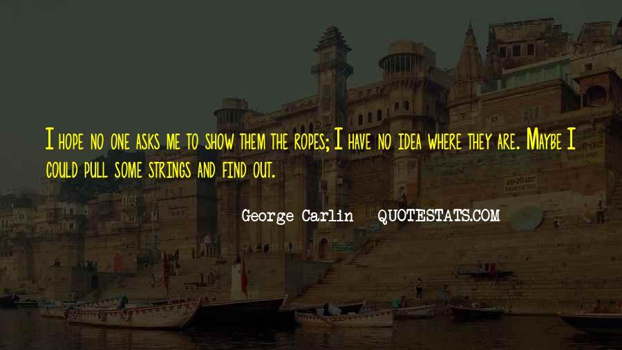 Carlin Quotes #150972