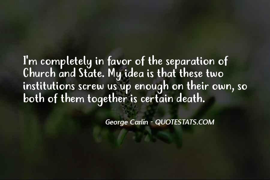 Carlin Quotes #158051