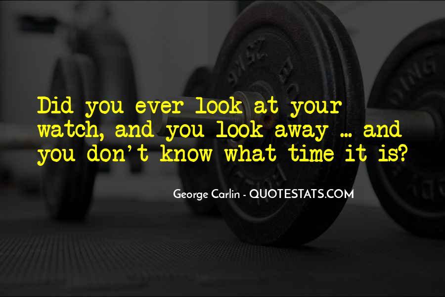 Carlin Quotes #16336