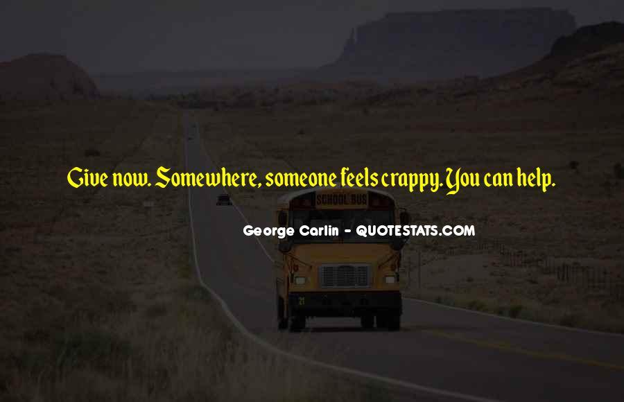 Carlin Quotes #197778