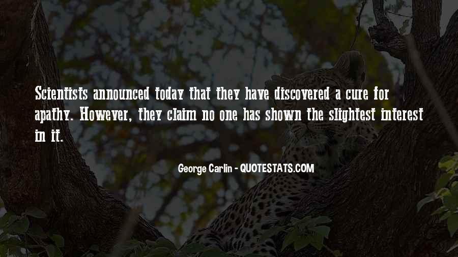 Carlin Quotes #23283