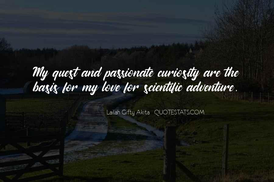 Quotes About Living A Life Of Adventure #1227089