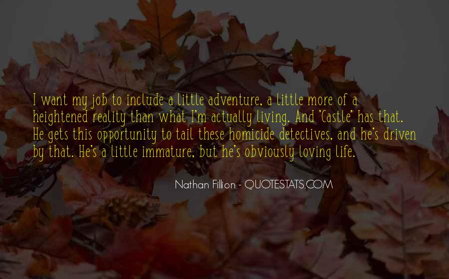 Quotes About Living A Life Of Adventure #764296