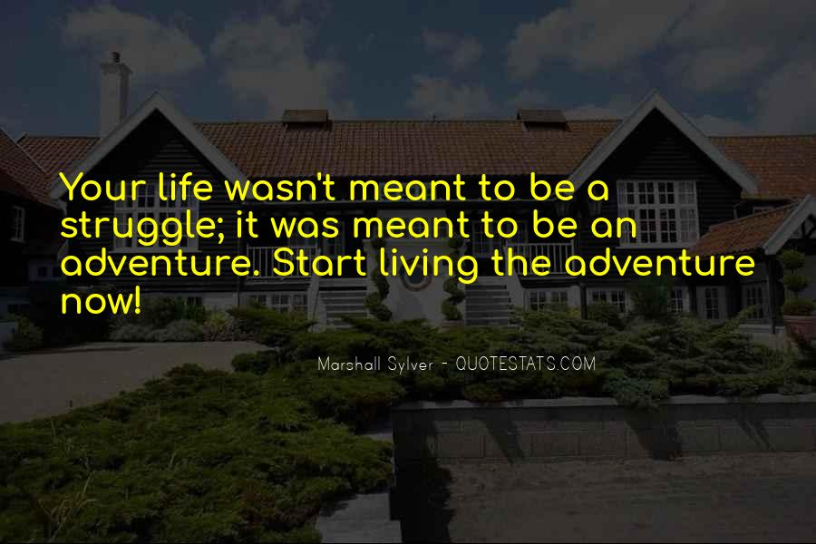 Quotes About Living A Life Of Adventure #830048