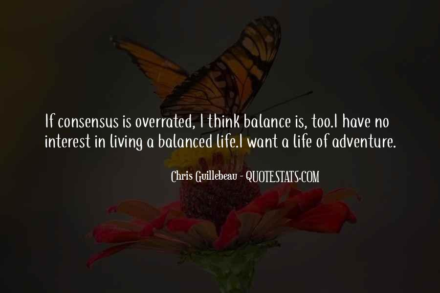 Quotes About Living A Life Of Adventure #874331