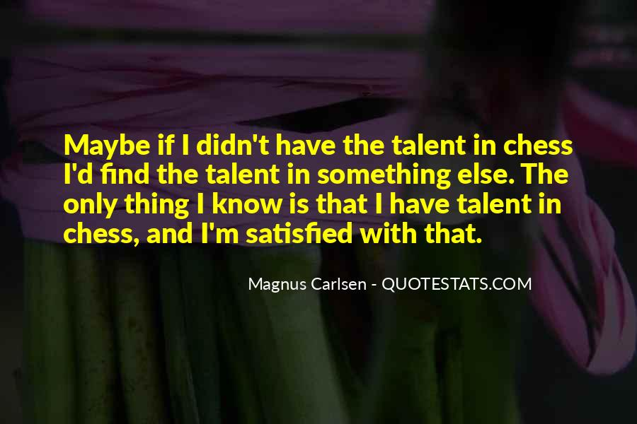 Carlsen Magnus Quotes #1007641