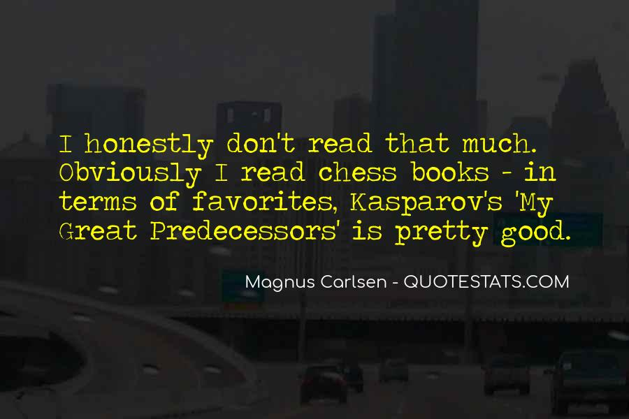 Carlsen Magnus Quotes #1014681