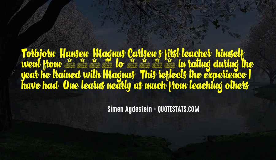Carlsen Magnus Quotes #44957