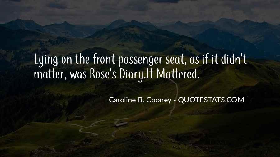 Caroline Cooney Quotes #1099321