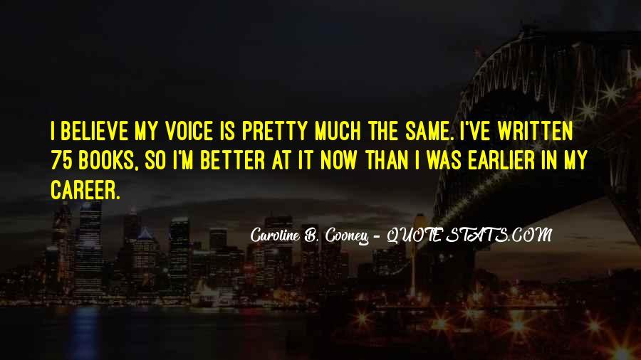 Caroline Cooney Quotes #1649628