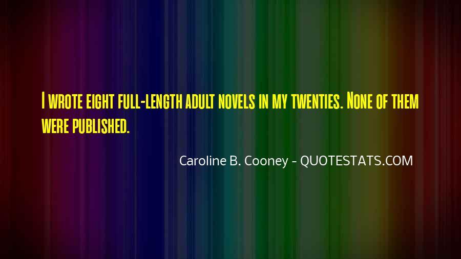Caroline Cooney Quotes #171618