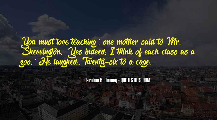 Caroline Cooney Quotes #456608